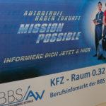 Mission Possible - spannende Einblicke in den Ausbildungsberuf des KFZ-Handwerks beim Berufsinfomarkt